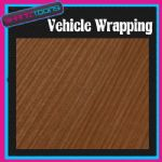 "1M X 1370mm (52"")  VEHICLE CAR WRAPPING WRAP DECO WOOD EFFECT NEW 2012"